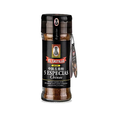 El Castillo 5 Especias Chinas Chinese Spices Mixed No Salt Added, 35 g