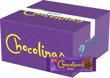 Traditional Chocolate Cookies used to make Chocotorta with Dulce de Leche, 170 g / 6.0 oz (Box of 40)