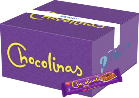 Chocolinas Traditional Chocolate Cookies, Perfect for Cakes with Dulce de Leche Chocotorta, 250 g / 8.8 oz (Box of 25)