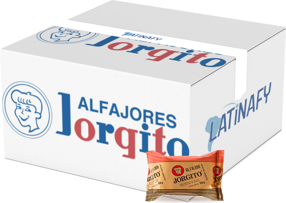 Black Alfajor with Dulce de Leche Covered in Chocolate Wholesale Bulk Box, 55 g ea (24 count per box)