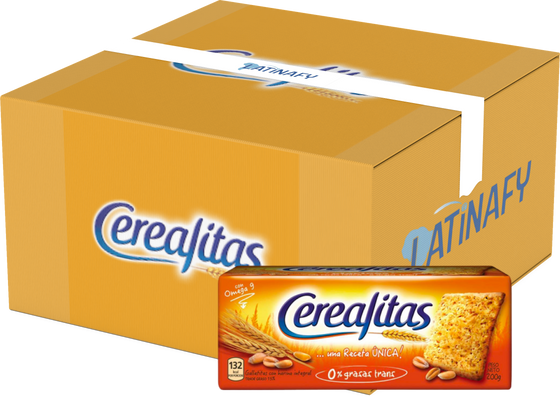 Wholegrain Crackers Galletitas, 200 g / 7.1 oz (Box of 48)