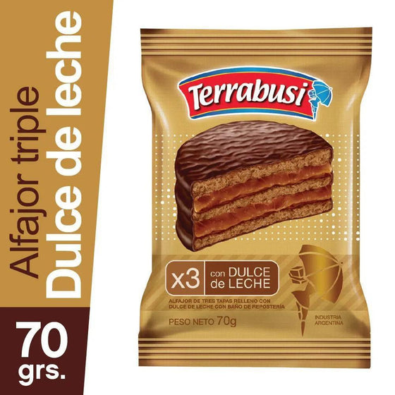 Terrabusi-Milk-Chocolate-Alfajor-Triple-with-Dulce-de-Leche-70g-pack-of-6