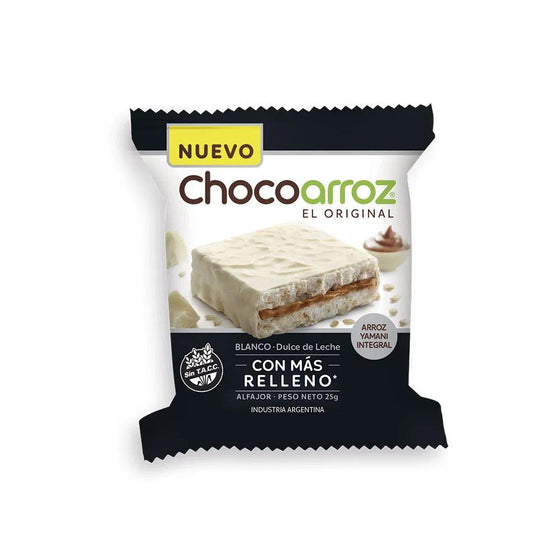 Chocoarroz-Wholegrain-Rice-White-Chocolate-Alfajor-with-Dulce-de-Leche-Very-Low-Caloriesgluten-Free-box-of-24