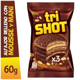 Trishot-Triple-Alfajor-with-Peanut-Butter-and-Chocolate-Mousse-60g-pack-of-6