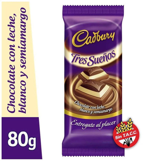 Cadbury-Chocolate-Bar-Tres-Sueños-Milk-Chocolate-Semibitter-Chocolate-White-Chocolate-80g-pack-of-2