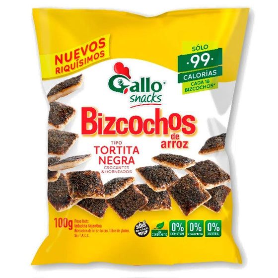 Gallo-Bizcochosgalletas-Arroz-Torta-Negra-Sweet-Baked-Sugar-Horneadas-BakedglutenFree-100g-ea-pack-of-3