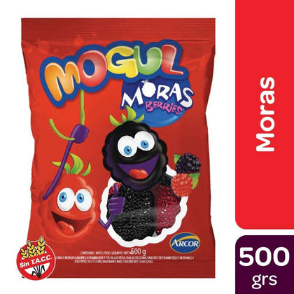 Mogul-Moras-Candiesgummies-Berries-Shaped-500g