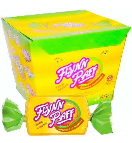 Caramelos-Flynn-Paff-Banana-Flavored-Soft-Candy-560g-Box