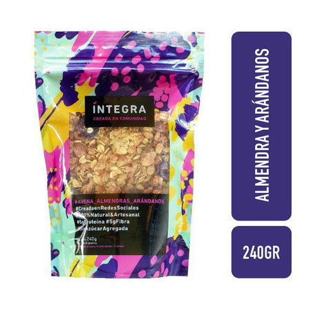 Integra-Cranberry-Almondgranola-240g
