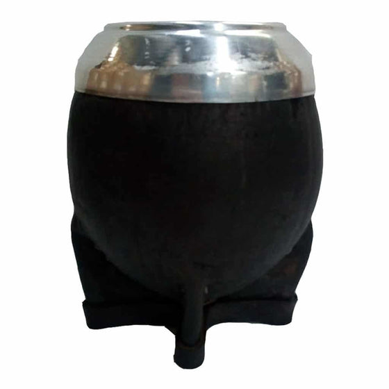 latinafy.com_Traditional-Black-Uruguayan-Mate-Gourd-Lined-in-Leather