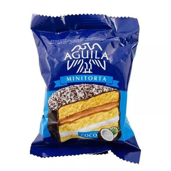 Alfajor Coco Coconut Cream Minicake with Dulce de Leche, 72 g / 2.5 oz (pack of 6)