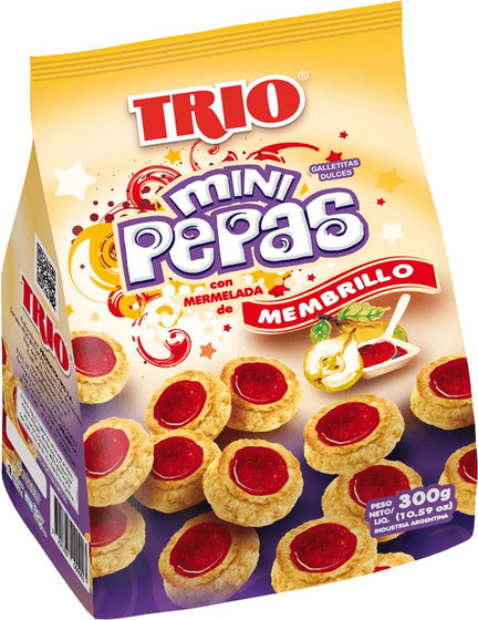 Trio-quince-Membrillo-Trio-Quince-Jelly-Mini-Pepas-Sweet-Snack-500g