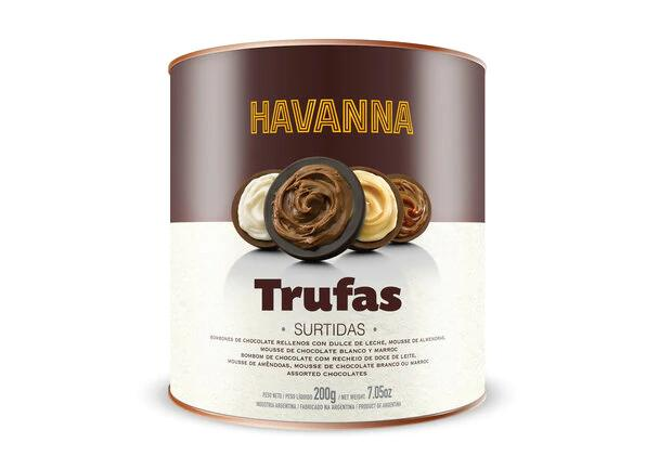 Latinafy.com_Havanna-Trufas-surtidas-De-Chocolate-Rellenas-con-Dulce-De-Leche-Mousse-de-Almendras-Chocolate-Blanco-y-Marroc-Chocolate-Truffles-Filled-with-Assorted-Chocolates-200g