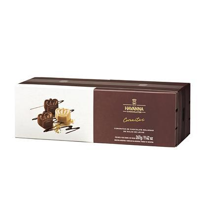 Latinafy.com_Havanna-Coronitas-Bombones-Milk-Chocolate-Semi-bitter-Chocolate-White-Chocolate-Bites-Filled-with-Dulce-de-Leche-267g
