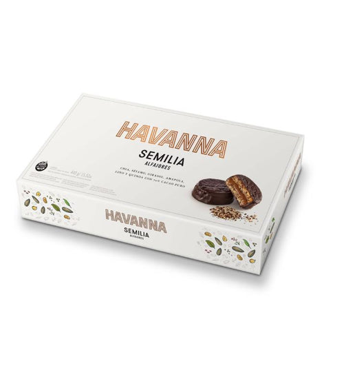 Latinafy.com_Havanna-Semilia-Semillas-Mixed-6-Seeds-Alfajor-Dulce-de-Leche—Sin-TACC-Gluten-Free-box-of-8
