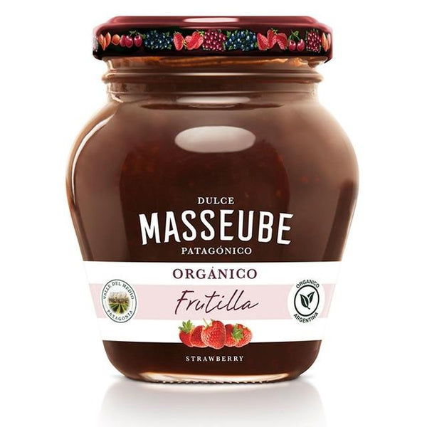 Masseube-Organic-Strawberry-Jam-350g