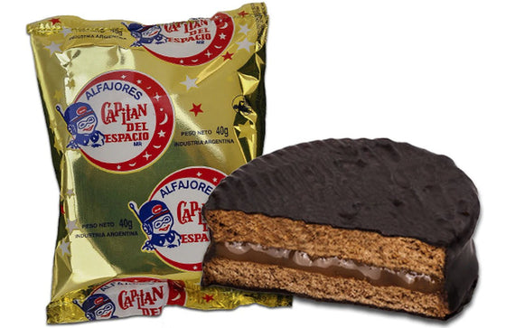 capital-del-espacio-alfajor-chocolate-with-dulce-de-leche-pack-of-6