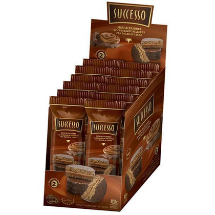 Latinafy.com_Successo-Mini-Alfajores-Milk-Chocolate-Alfajores-Filled-with-Dulce-de-Leche-Trans-Fat-Free-600-g-box-of-12-packs-with-2-alfajores-ea