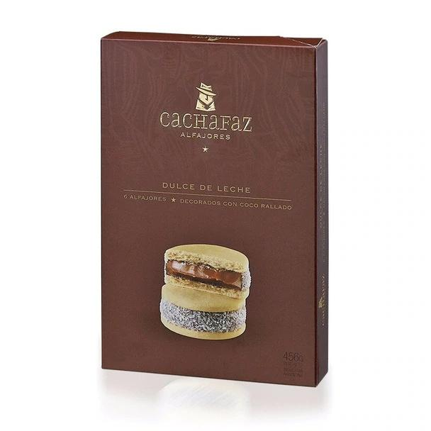 latinafy_Cachafaz-Alfajor-Cornstarch-with-Grated-Coconut-and-Dulce-de-Leche-box-of-6