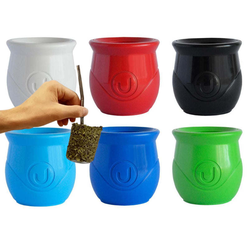Classic Style Urban Mate Gourd Urbano With Magic Straw