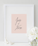 Joie de Vivre poster | French Quote | Typography Print