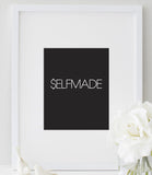 $elfmade Print | Motivational Typography