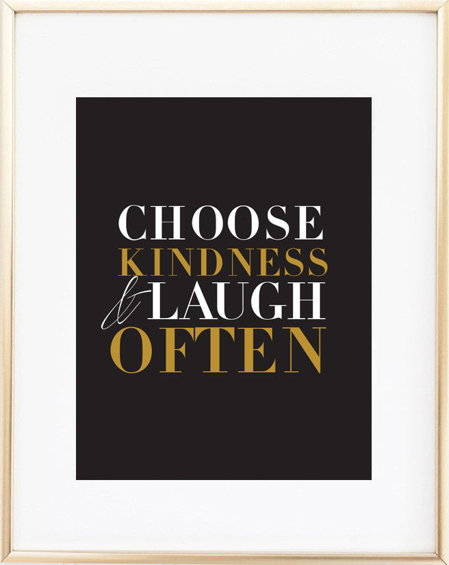 Laugh Often Print