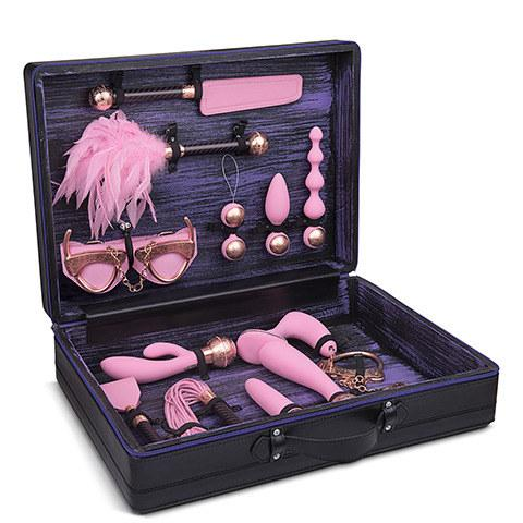 LELO Anniversary Suitcase Pink and 18k Rose Gold