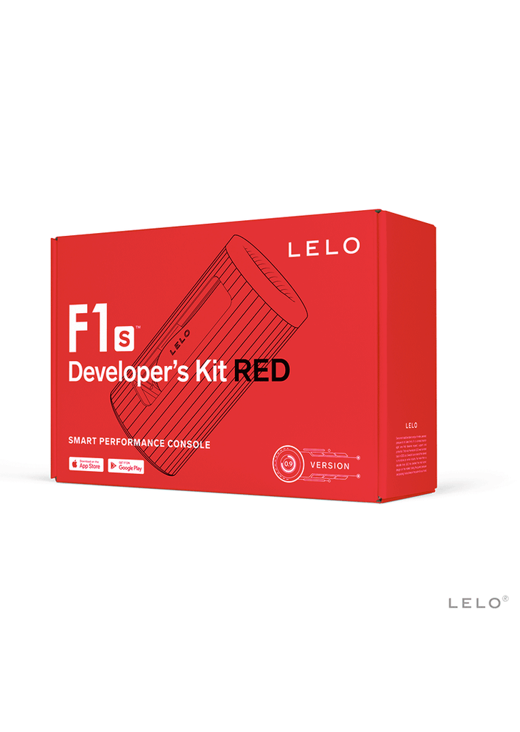 LELO F1S Developers Kit Red Masturbator