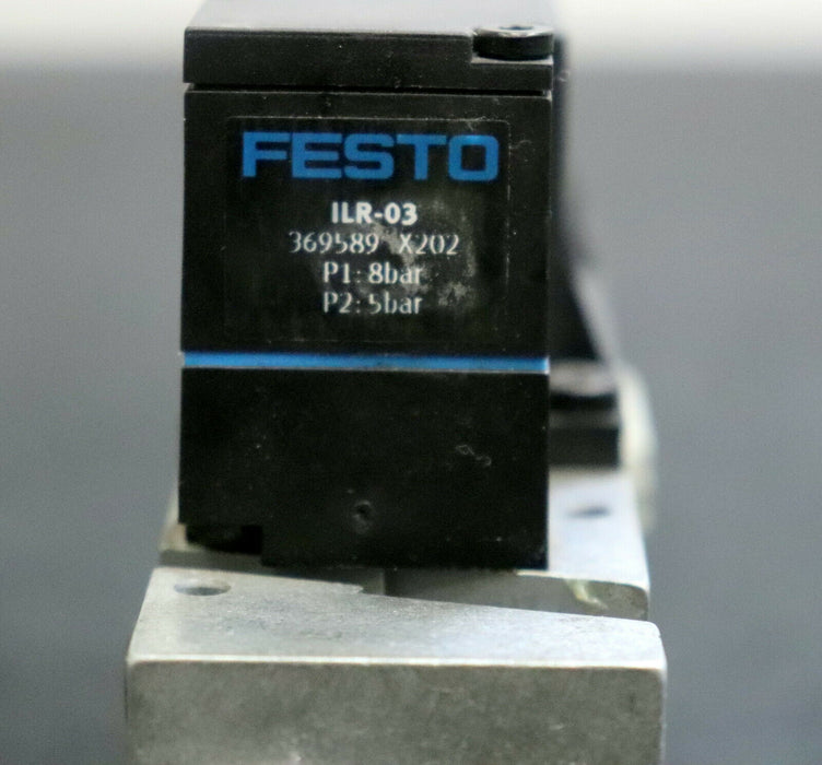FESTO Adapterplatte VIGP-03-7,0-4,0-LR Nr. 525437 X202 I: 5-10bar / 70-145psi