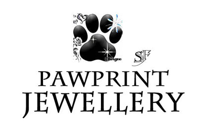 Paw Print Jewellery, Personalised Handcrafted Pet Paw Print Jewellery