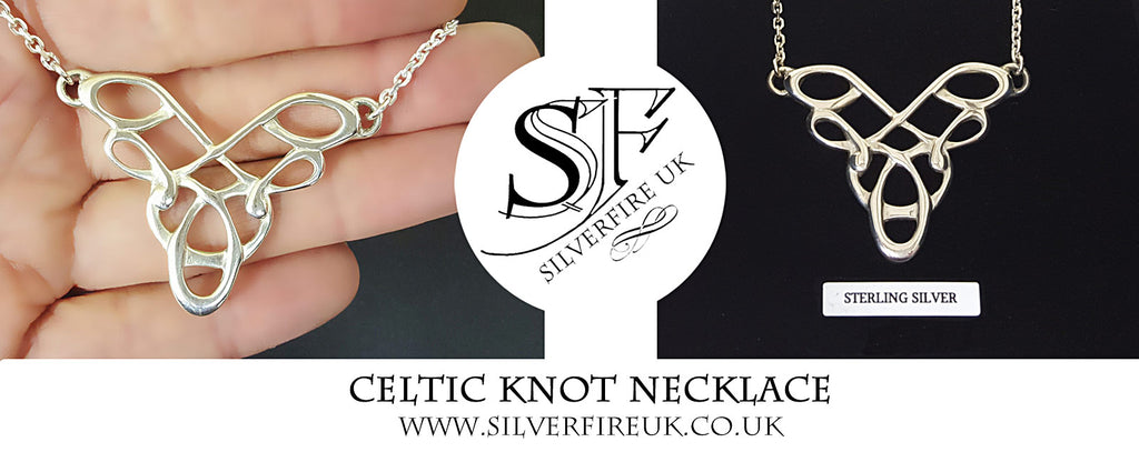 Celtic Knot Necklace - Custom Handmade Celtic Jewellery