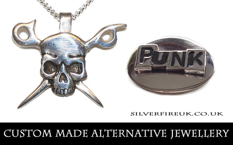 custom made alternative jewellery