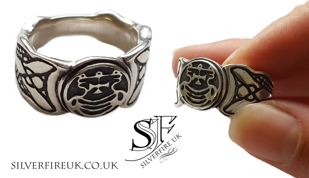 Gothic Wedding Ring Custom Jewellery