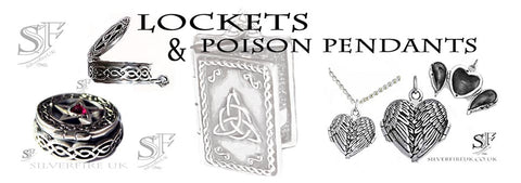 Gothic Lockets & Poison Pendants