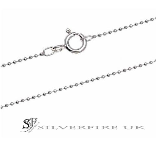 1mm Ball Chain Necklace | Sterling Silver Ball Chains