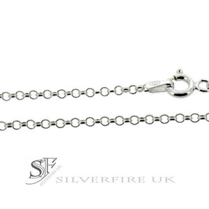 2.5mm Belcher Chains - Sterling Silver