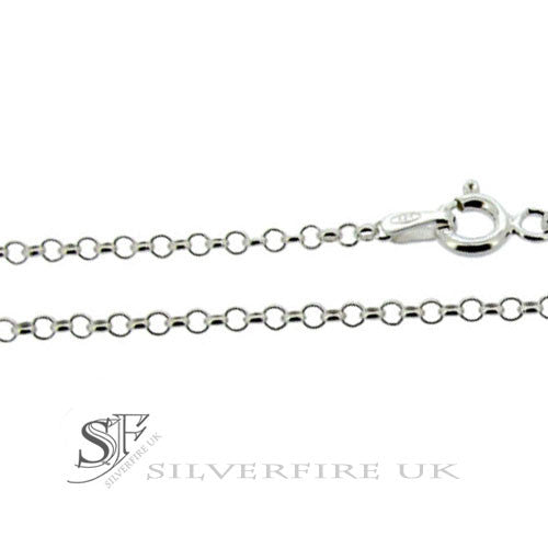 2mm Belcher Chains - Sterling Silver