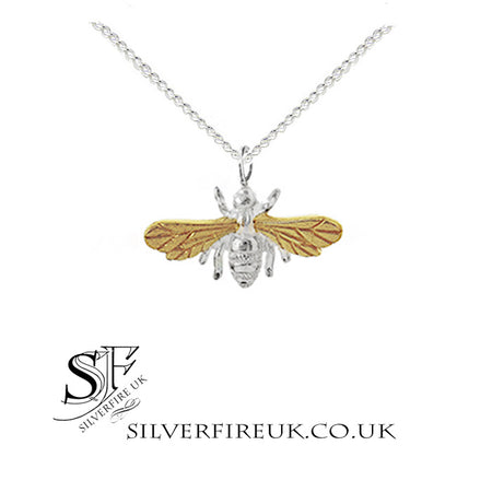 NEW: Silver Phoenix Necklace