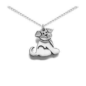 Puppy dog necklace