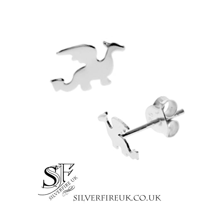 Silhouette Dragon Earrings