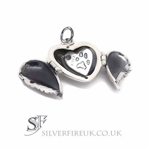 Keepsake Locket, Custom Made Heart Charm