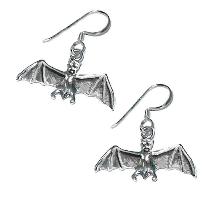 gothic bar earrings