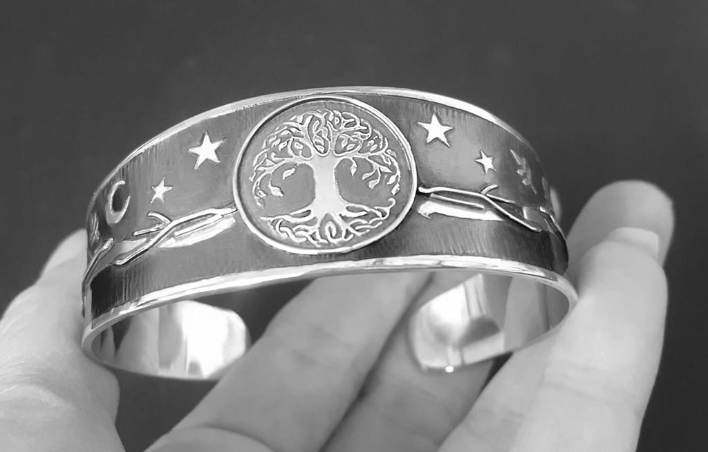 tree of life celestial bangle
