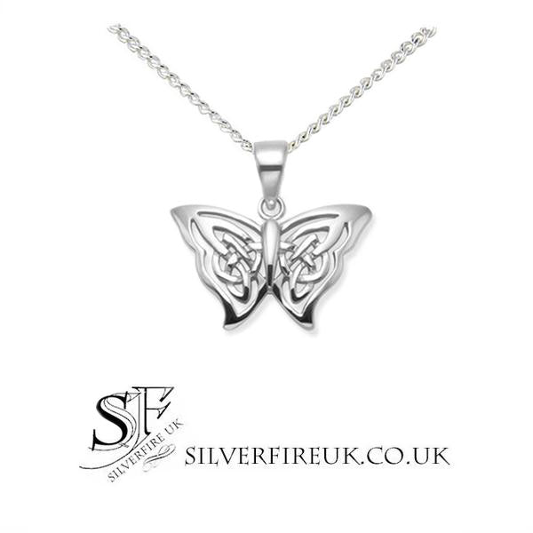 Celtic Butterfly Necklace