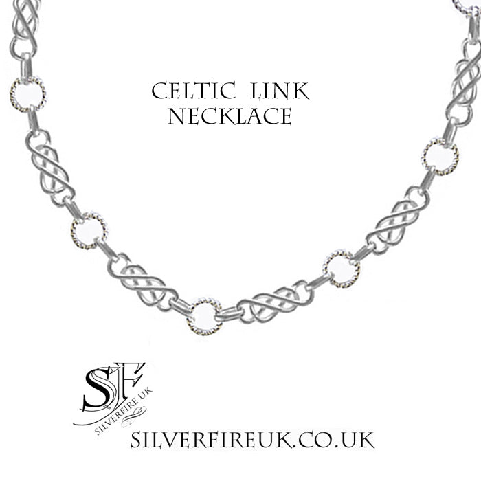 Celtic link necklace