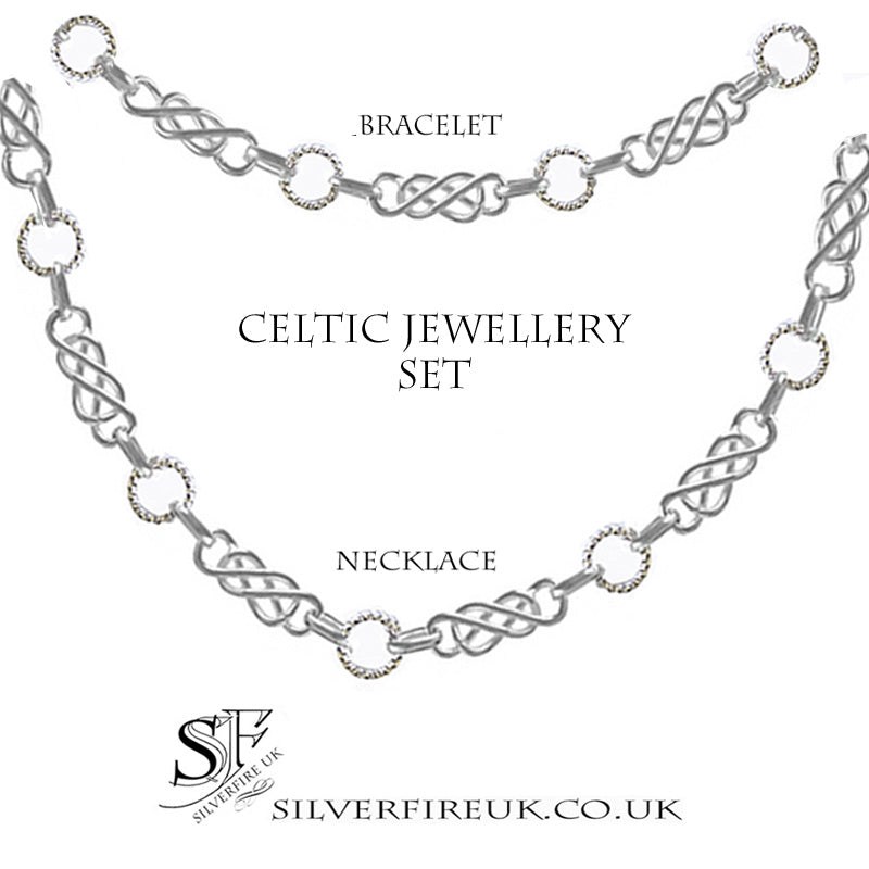 Celtic Knot Jewellery Set