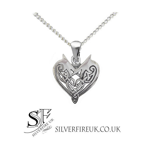 Love heart jewellery love knot jewelry uk silver love hearts small love heart necklace sterling silver love heart aloadofball Image collections