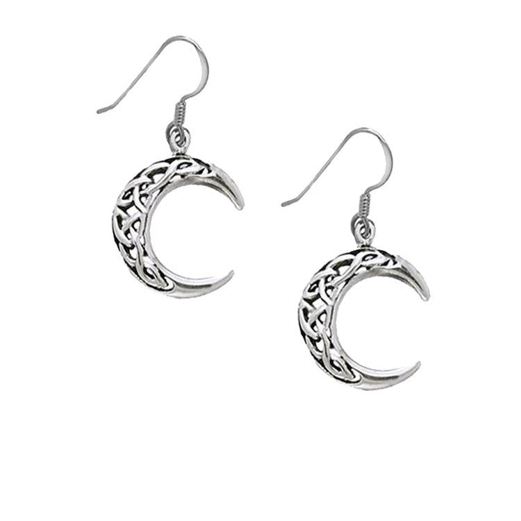 Moon Celtic earrings