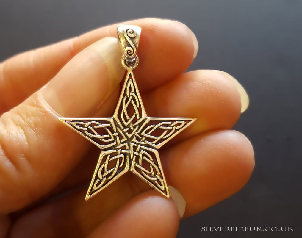 NEW: Star Celtic Necklace